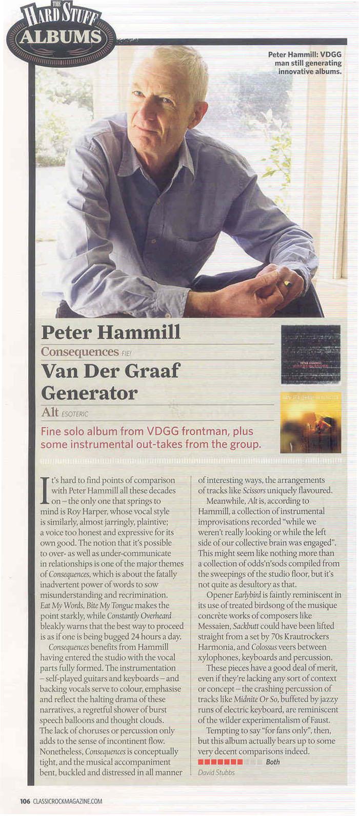 ALT - Van der Graaf Generator